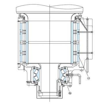Vickers PV028R1K1T1NKL14545 PV 196 pompe à piston