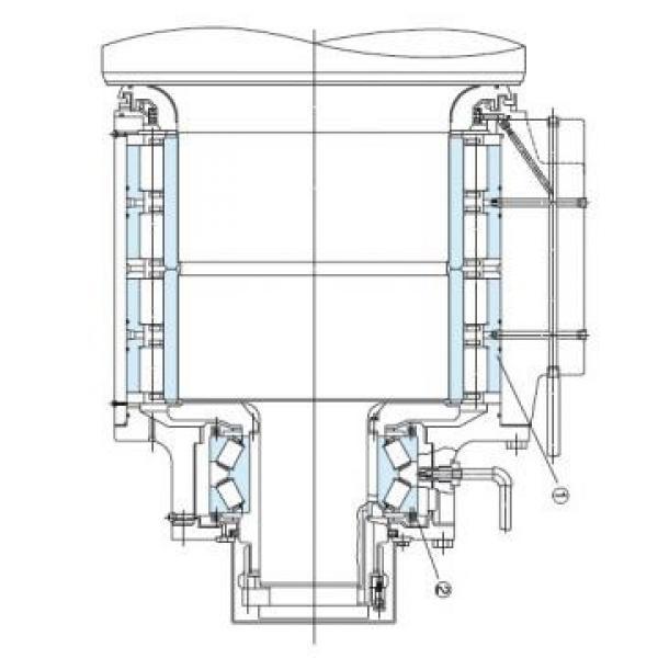 Vickers PV020R1K1T1NMFC4545 PV 196 pompe à piston #1 image